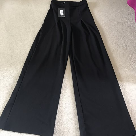 18e5740c2afde5 Brand new with tags thick floor length high waisted black 10 - Depop