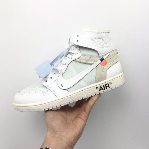 8397fc2d364 @londonpreme. last year. London, United Kingdom. Nike x Off White Air  Jordan 1 Retro NRG