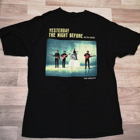334859f27 @thatgirl89. 3 months ago. Scunthorpe, North Lincolnshire, United Kingdom. The  Beatles the singles black t shirt