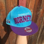 4034acea Charlotte Hornets basketball snapback by. $15 · Vintage Mitchell and Ness  NBA