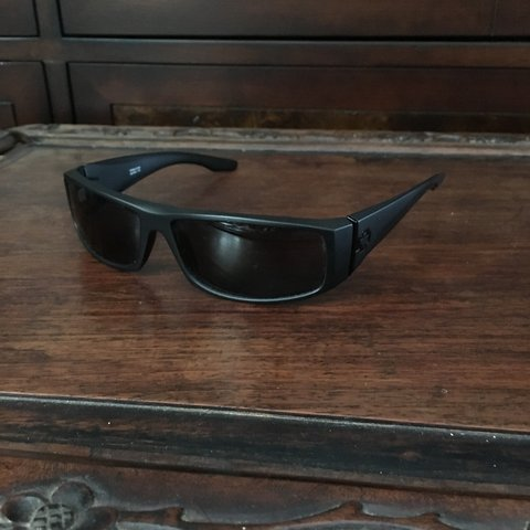 3214685910 Spy Optics Cooper sunglasses in matte black with polarized - Depop