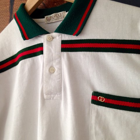 6a4402824 @henry_ghattak. 2 years ago. London, UK. Vintage Gucci polo Size M - in top  condition for its age ...
