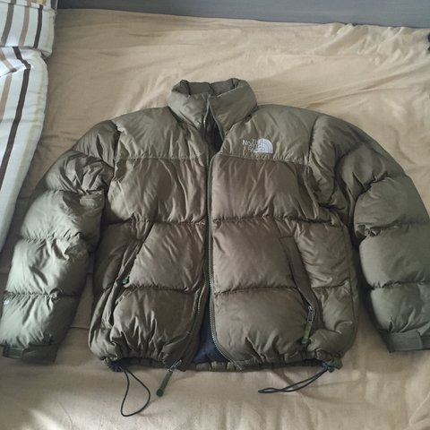 28afb7dd16 Size Medium Condition - D authorized site 3c0bb 74941  North Face Jacket •  700 Nuptse • Olive Green • RARE cant in ever popular bee2d ...