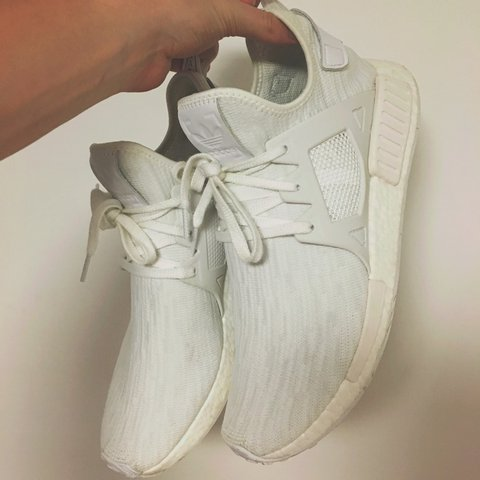 273be2588 Adidas Triple White NMD XR1 - Deadstock and now rare. Only - Depop