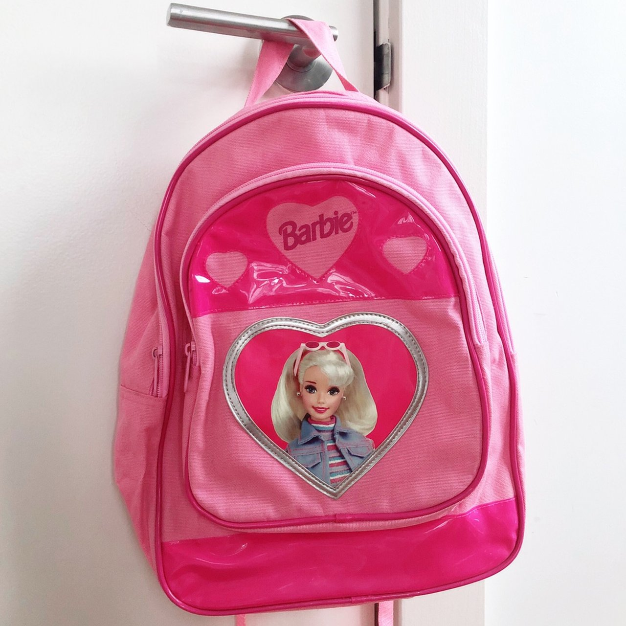 Vintage 90 s Barbie Backpack! I love this backpack so much 279242fed27df