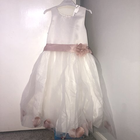 13292ee48fac Matalan age 8 bridesmaid  flower girl dress. Brand new with - Depop