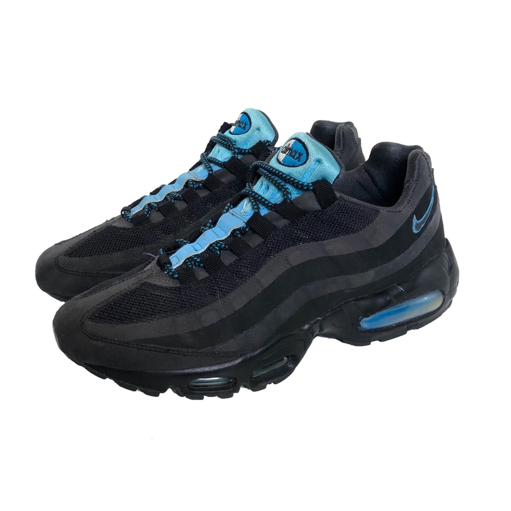 Air Max 95 Ns Black Blue Great Condition Signs Of Depop