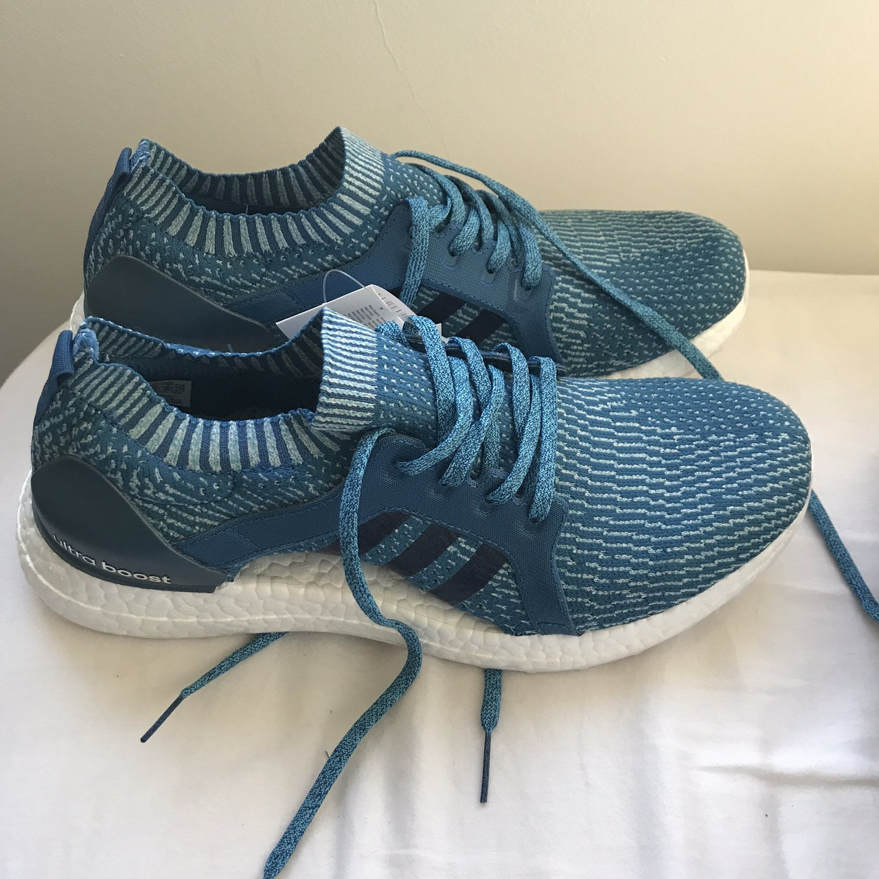0e56c4839860c Addidas x Parley Ultra boost x brand new with tags and box 9 - Depop