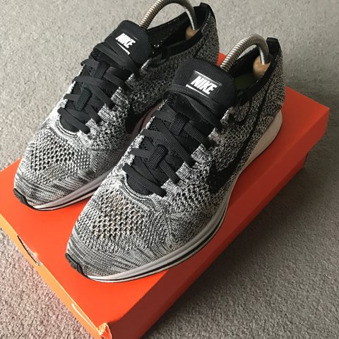 f2ac37a63c104 Nike Flyknit Racer limited edition colourway. RRP 135£ UK 8. - Depop