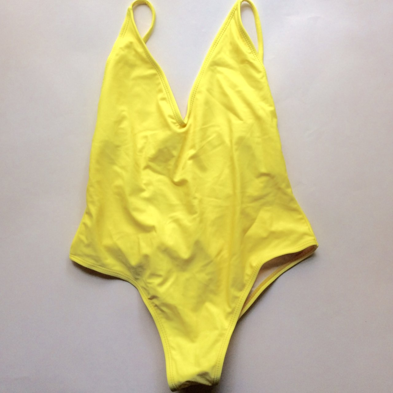 b12e7fee61 Forever 21 Red One Piece Bathing Suit - Size Medium. Never - Depop