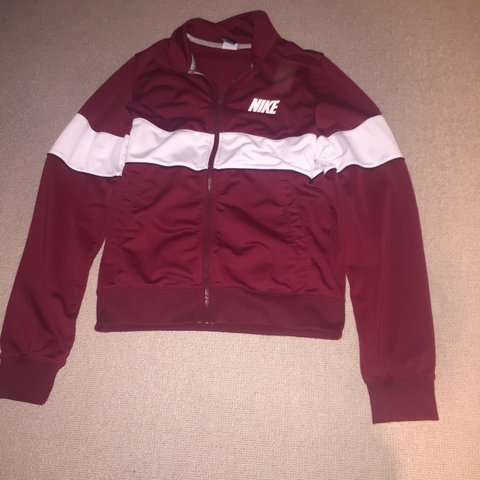 390c2970c @deveyj05. 2 years ago. Berkhamsted HP4, UK. Vintage Nike red/burgundy  jacket ...