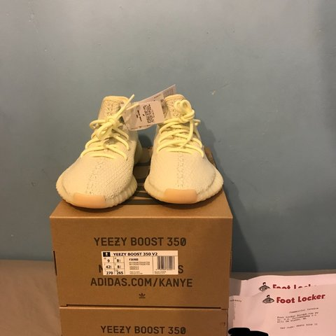6f935eb00 Yeezy V2 Boost 350 Butter 🍯 Brand new with the original two - Depop