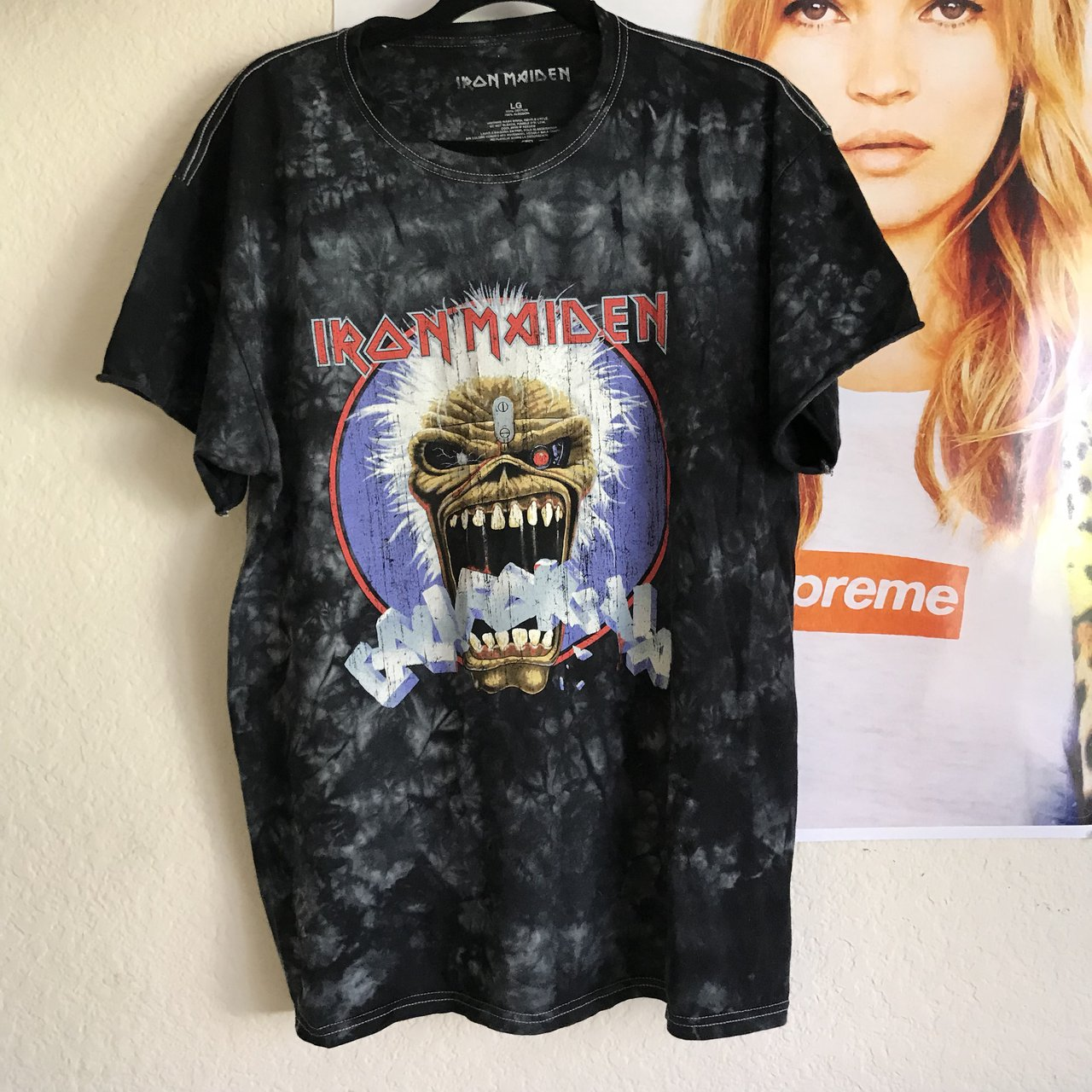 f41821bb @leilatabrizi. 8 months ago. Pleasant Hill, United States. urban outfitters  vintage style iron maiden band tee ...