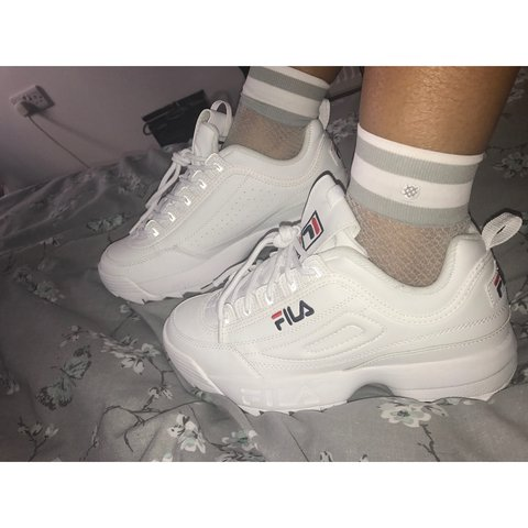 FilaDISRUPTOR - Trainers - white