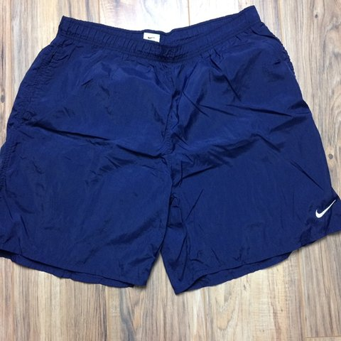 5d16989dfe321 @hancello91. 6 months ago. Saginaw, United States. Vintage Nike swimming  trunks in excellent condition!
