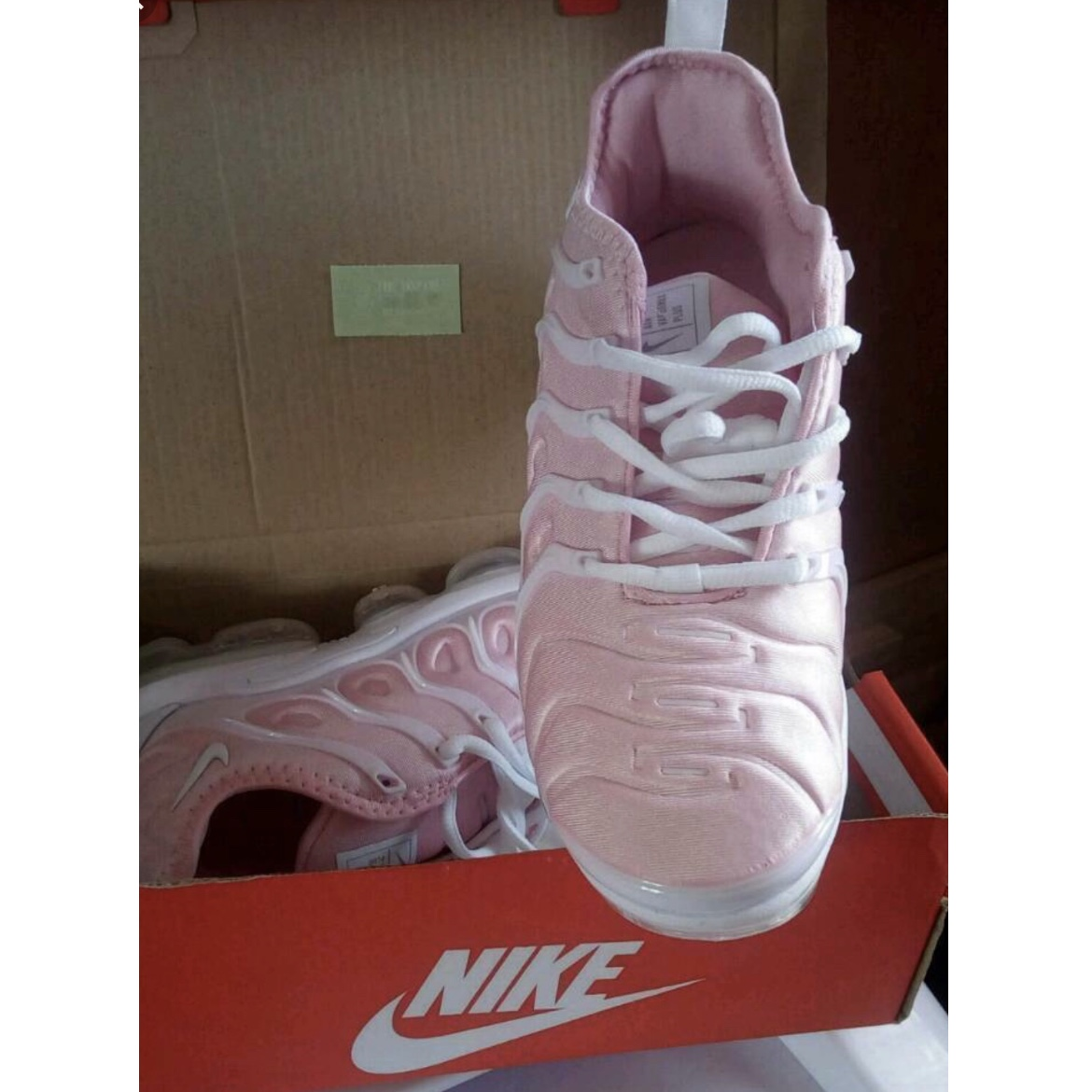 baby pink limited edition vapormax plus