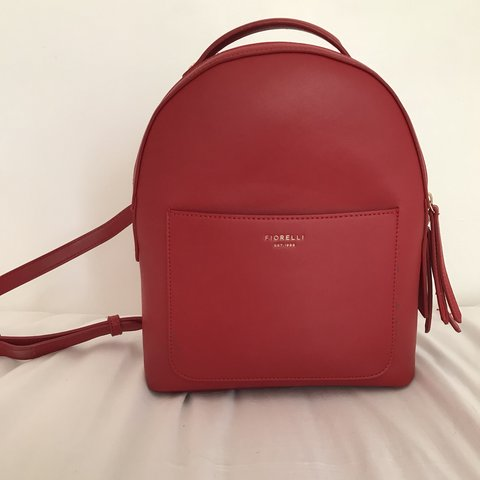 ❣ Fiorelli Red Backpack❣ Swipe for photos Perfect for - Depop