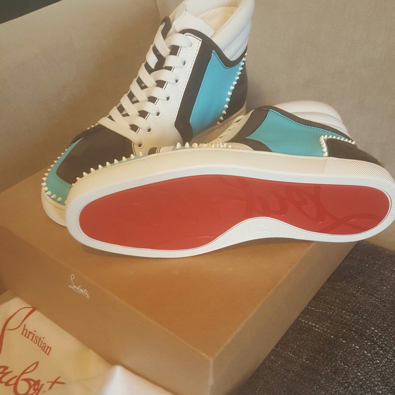 197439ceda52 Christian Louboutin Mens Trainer Shoes