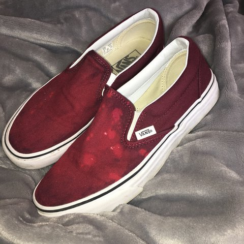 c5e703bb9f red bleached vans!! these are such a dope pair of shoes