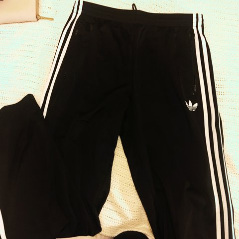 5cd6c07ee15e BRAND NEW Men s Adidas firebird tracksuit bottoms. Black in - Depop