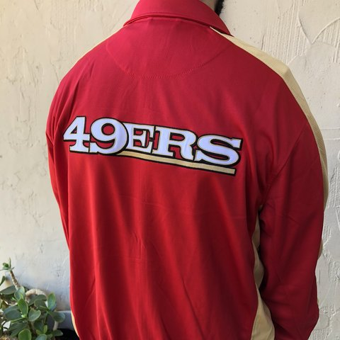 1871f3d34a5 San Francisco 49ers zip-up jacket by the NFL shop. Brand on. - Depop