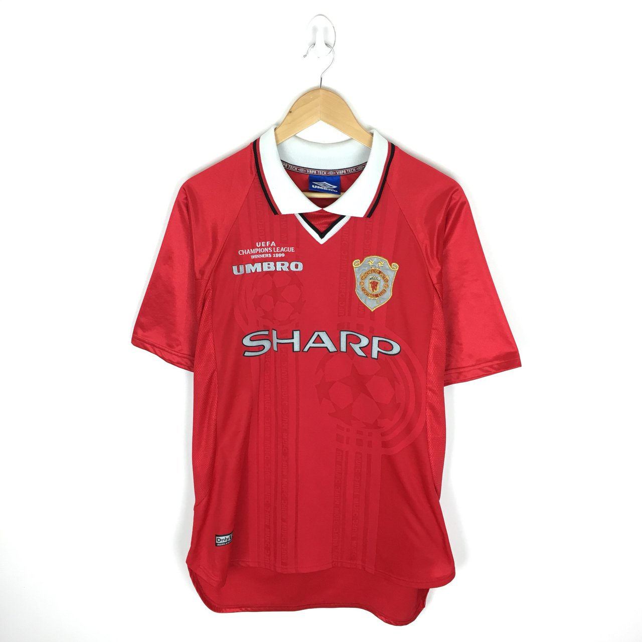 82980f276 Manchester United F.C. 1999 Champions League Final Signed ... Football  Shirts ...