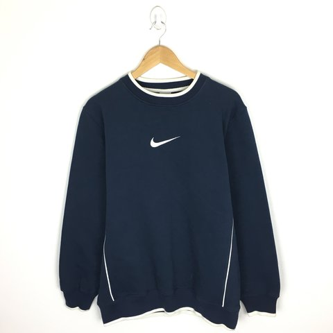 de60f05e @georgeferriday. 9 months ago. Birmingham, United Kingdom. Nike vintage  sweatshirt jumper 🌊 size medium Mens
