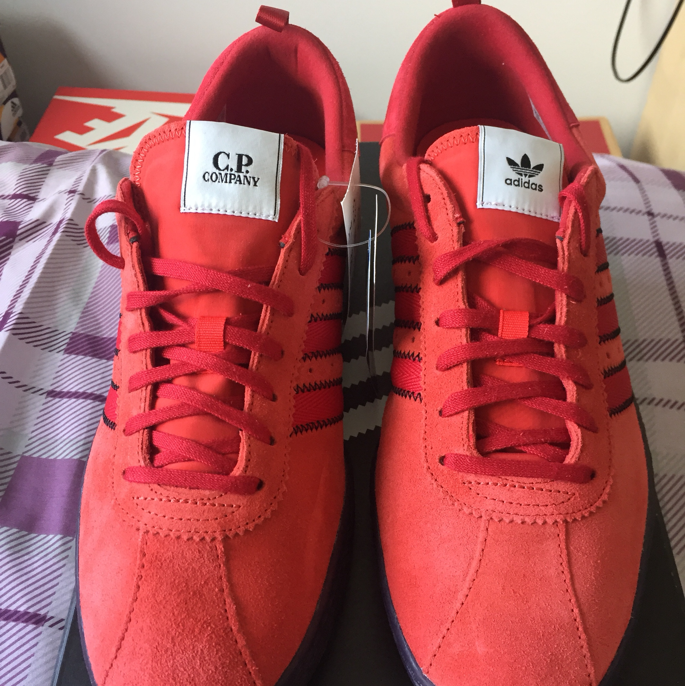 new concept c1181 1356d *RESERVED* Adidas X CP Company Tobacco | UK 11 ...