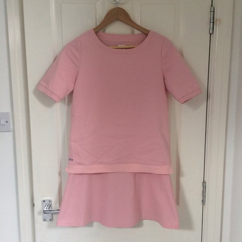 1e3563714 PRICE DROP TO £50 WANT IT GONE!! Really cute pink Lacoste a - Depop