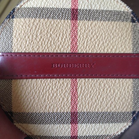 e29026eecda3 Lovely genuine Burberry round coin purse ! Perfect made in ! - Depop