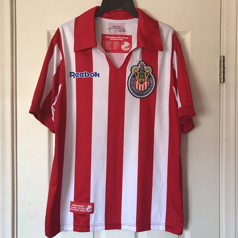 021f32095a7 @oz_08. last year. Ontario, United States. Reebok Club Guadalajara Chivas  Campeonisimo Soccer Jersey