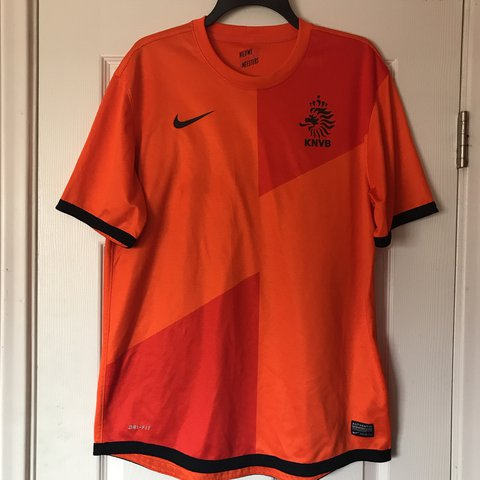 ab4cb047a Nike Holland Soccer Jersey Size L Great condition. 2012 - Depop