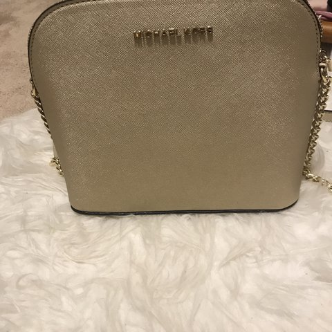 8dc63d129bd2 Authentic gold Michael Kors crossbody. Brand new