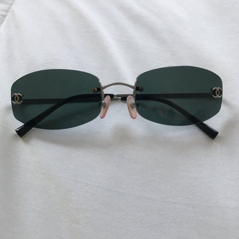 073b7b8ede Authentic Chanel Sunglasses. No visible scratches on lenses. - Depop