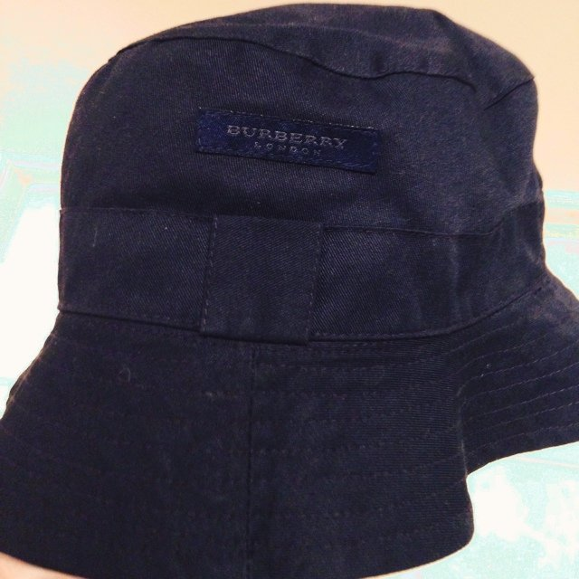 ff2659675f8 Vintage burberry bucket hat