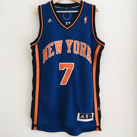 e033da9402f New York Knicks Carmelo Anthony Basketball Jersey - Depop