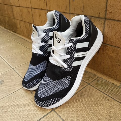 c3b62c534d92 Adidas Y3 Pure Boost ZG Knit Size 10.5 UK TWICE 9.9 10 with - Depop