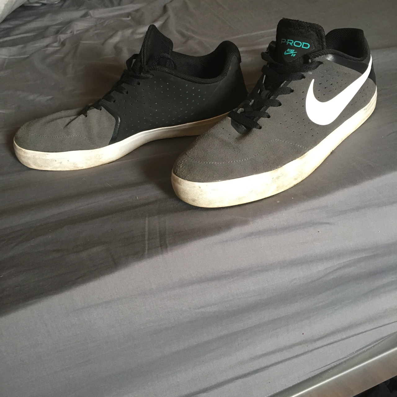 shades of hot new products discount sale Nike SB P-Rod Black and Grey. UK size 11. Very good ...