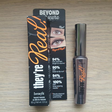 ce64e946af5 @zaarazaara. 2 years ago. Birmingham, UK. Benefit they're real! Or benefit  theyre real! Mascara brand new and unused.. box has ...