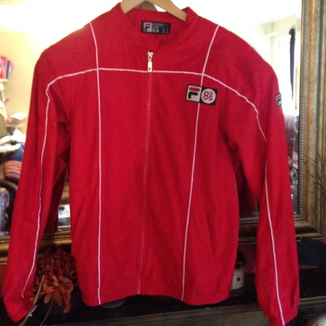 b8bc7c7f27a @spat. 5 years ago. Fila Vintage- Terrinda Track Top Settanta MK3 Red ( double ...