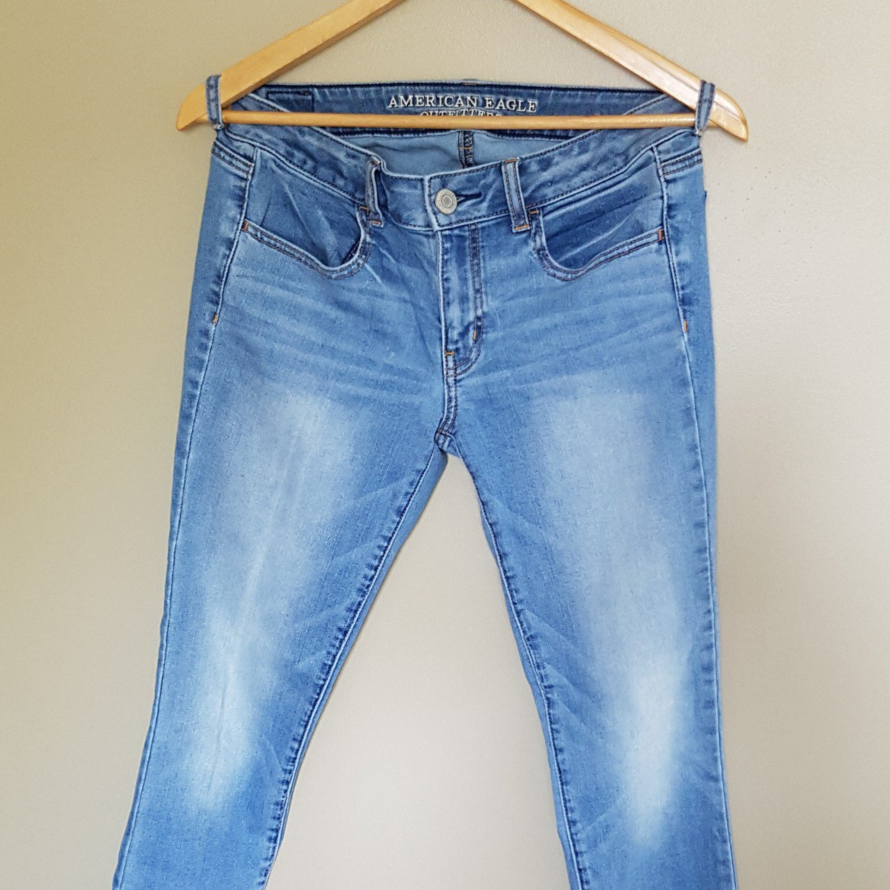 af335306a0c @katharingrace. 2 years ago. London, Middlesex County, Canada. American  Eagle skinny jeans, light blue ...