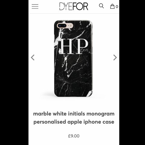 dyefor personalised iphone 7 case