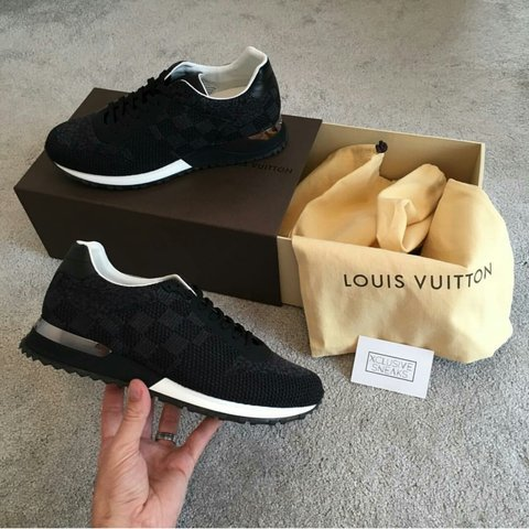 c977addae502 louisvuitton  louis  lv  sneakers  run  away - Depop