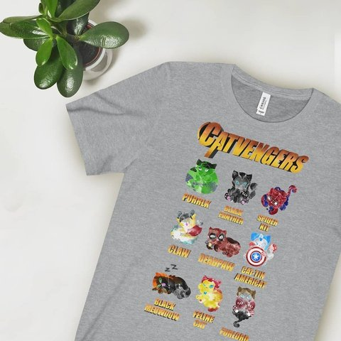 5c3768bf5 📨FREE UK DELIVERY📨 💃Catvengers T-shirt 💃Available in 6 2 - Depop