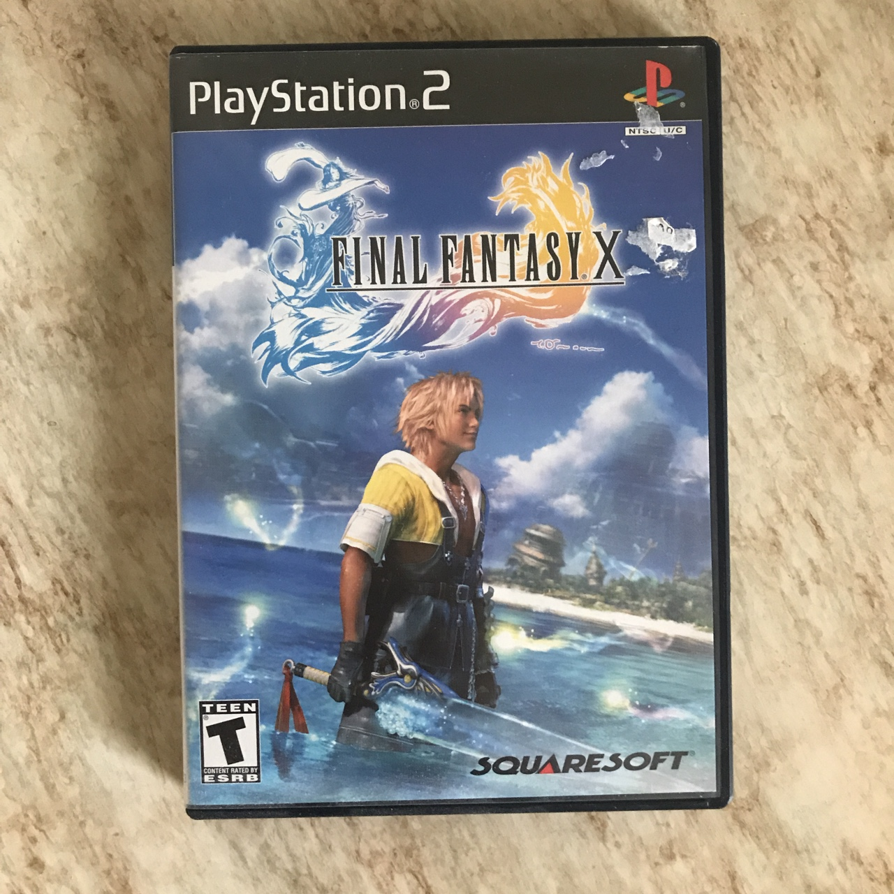 Getting rid of my FFX game for PS2 ! Shipping will    - Depop