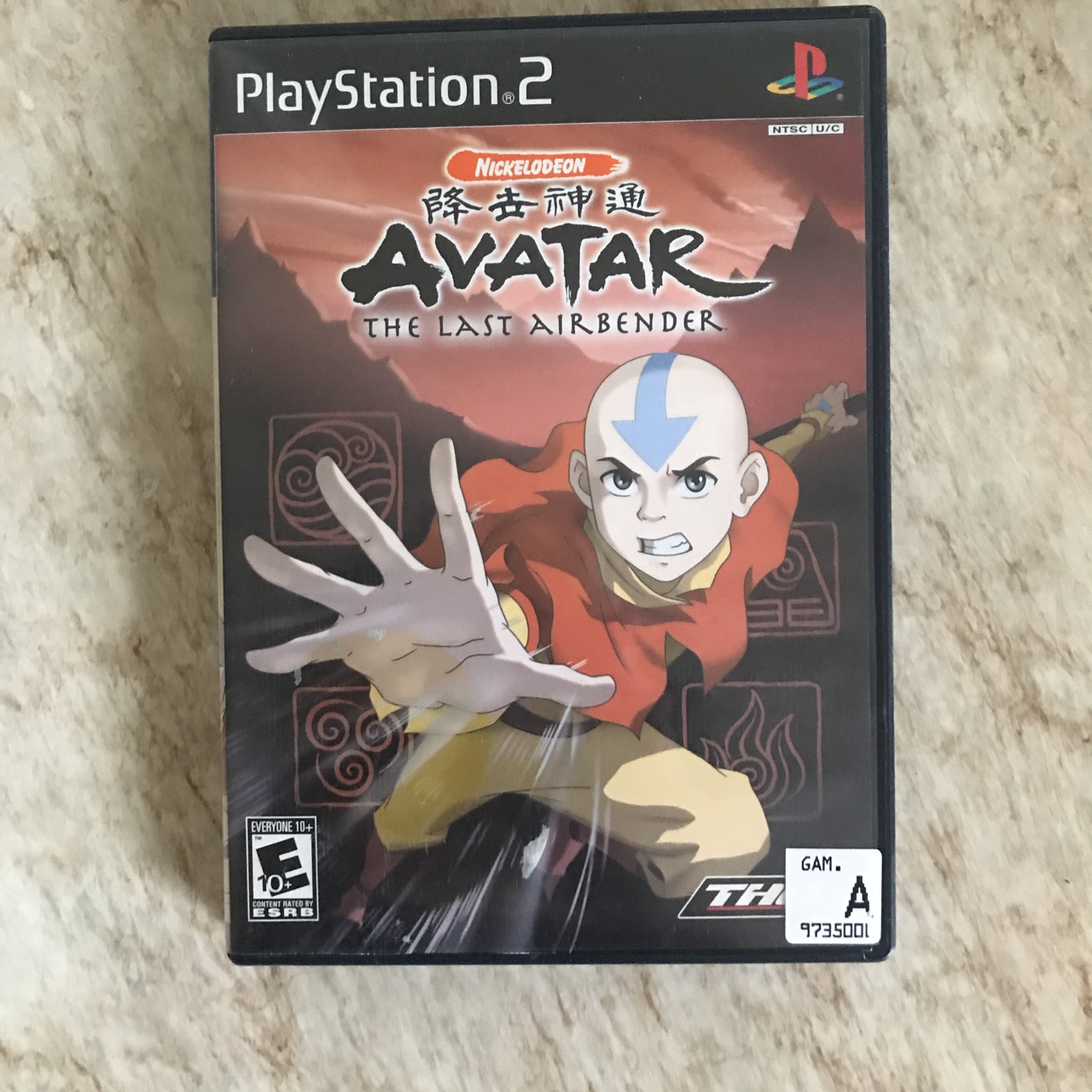 My old ATLA PS2 game up for sale ! Shipping will be    - Depop