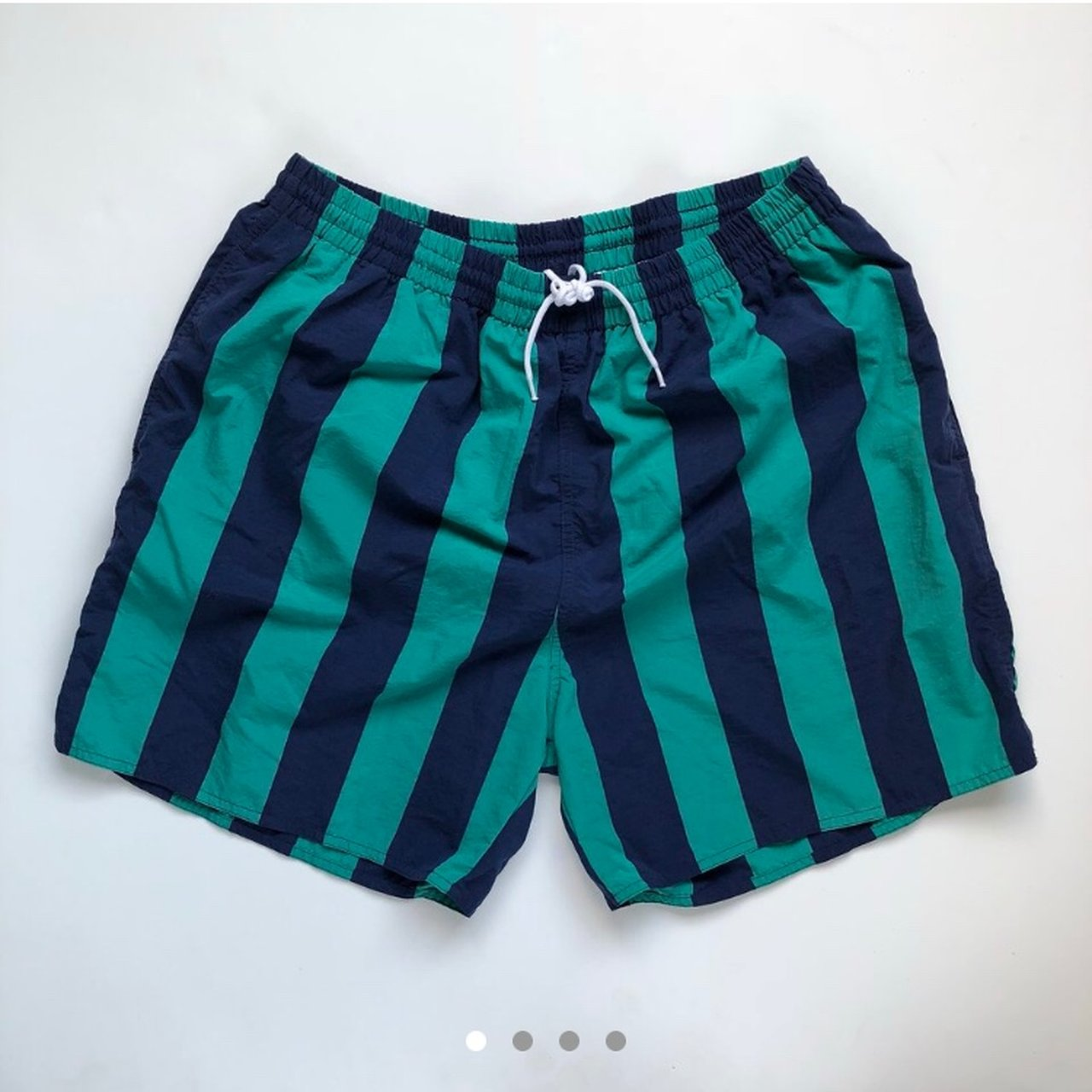 b98a3f89a1544 vintage Eddie Bauer men's swim trunks. these are a re-pop! a - Depop