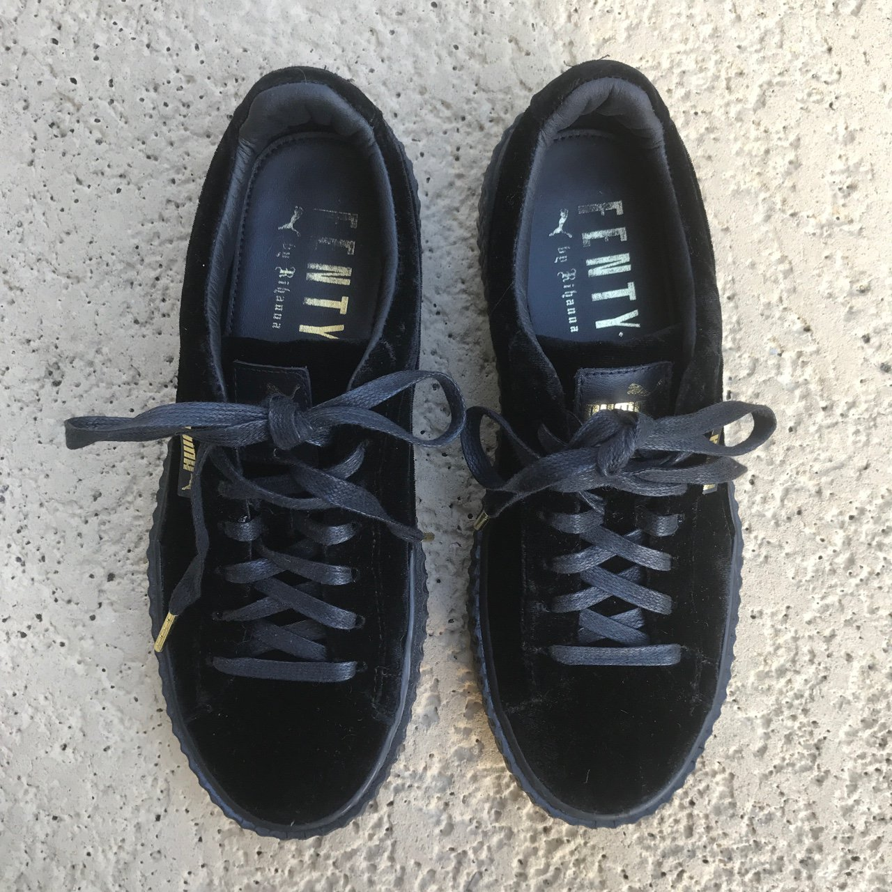 cb5a7d4844704e New Fenty Puma Creepers. Only worn once with original dust 9 - Depop