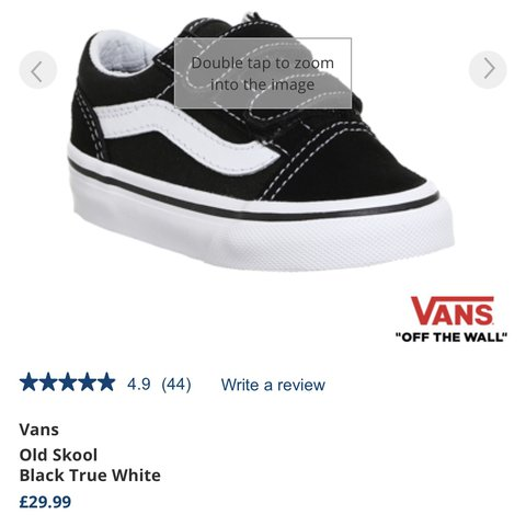 2451d5e63a infant size 5 old skool vans literally new- only worn a of - Depop