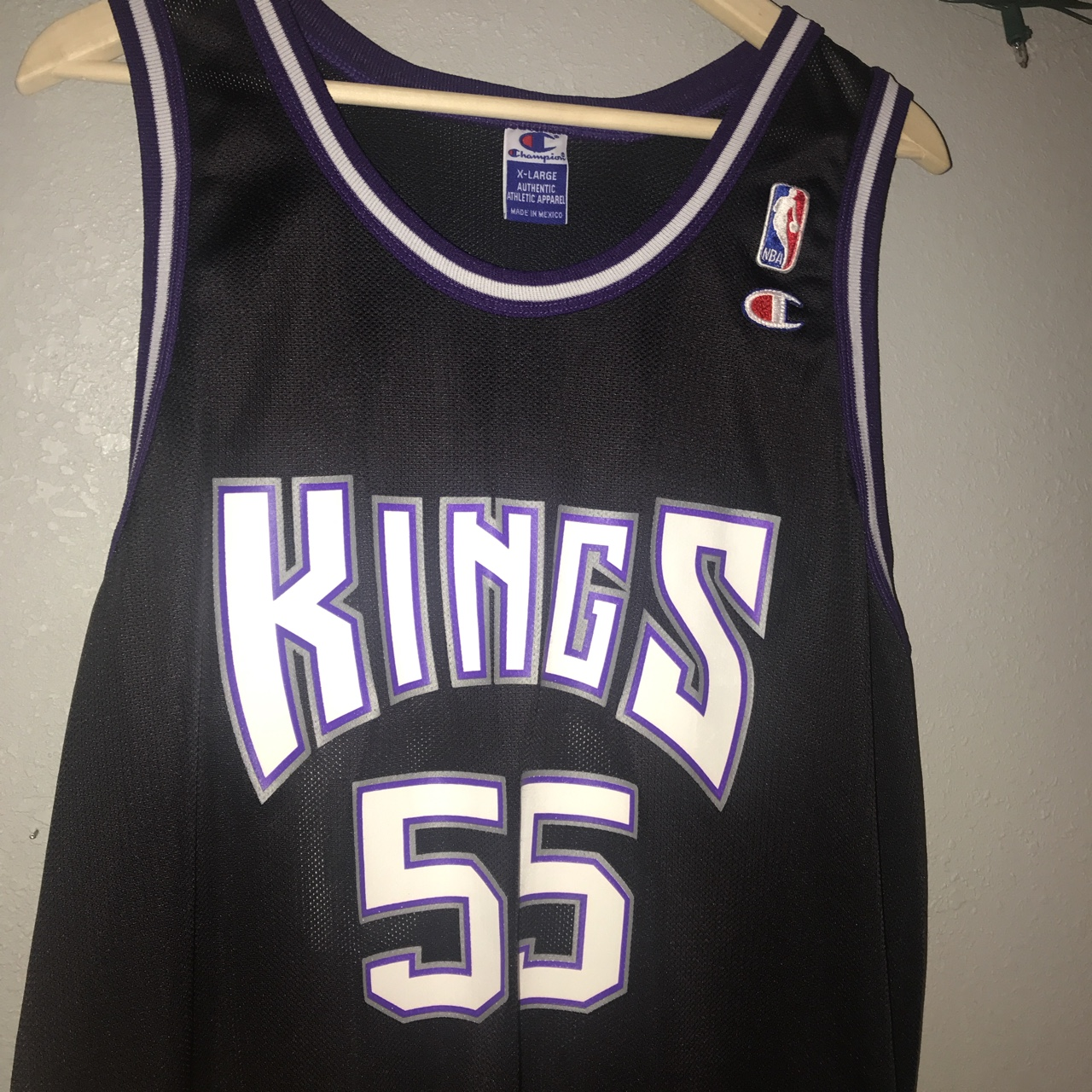 the best attitude ae591 fad3c Perfect condition Jason Williams Kings Champion Jersey ...